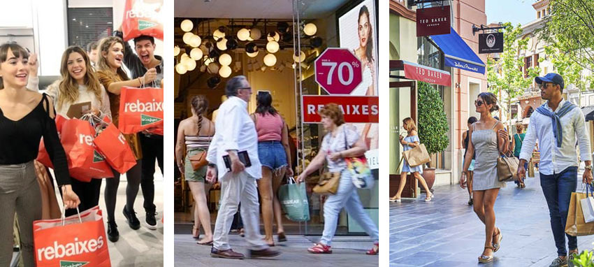 июльский шоппинг в Испании. Барселона, Мадрид, Малага, Валенсия