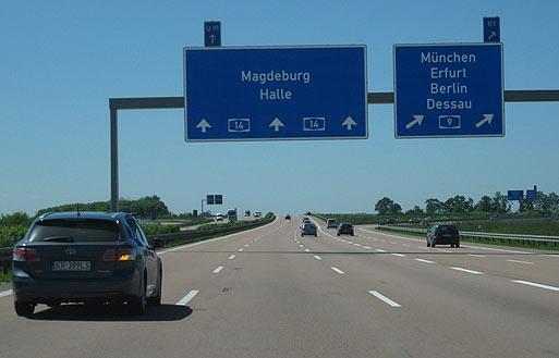 Дорожные впечатления туриста об автобанах Германии