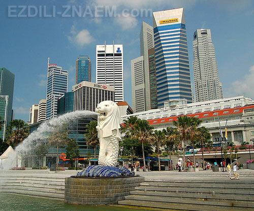 В Сингапуре: модный однокомнатный отель Мерлион Отель