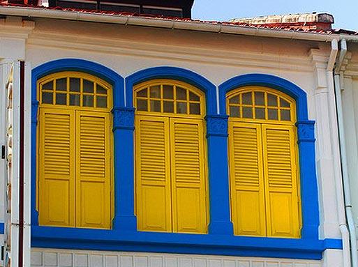 Лимонный цвет в Сингапуре