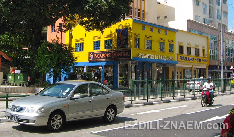 лимонные цвета не редкость в Сингапуре