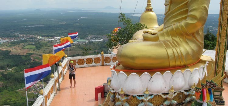 Гора у Тигровой Пещеры в Краби, Таиланд