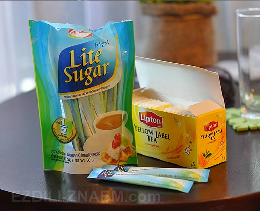 Цены на еду в Таиланде. Чай и сахар