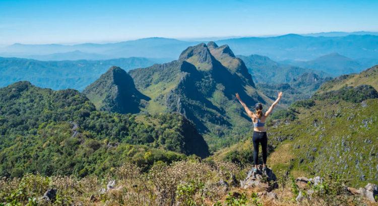 Что посмотреть вокруг Чианг Мая - самые высокие горы в Таиланде
