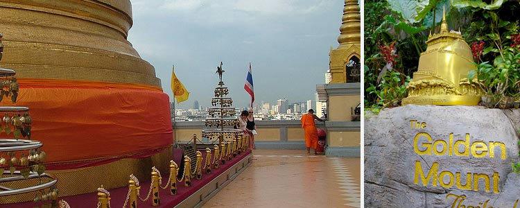 Храмы Бангкока: Ват Сакет (Wat Saket) - храм Золотой горы