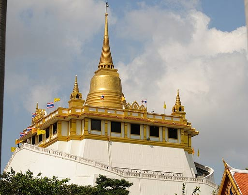 Бангкок: Храм Золотой горы Ват Сакет (Wat Saket)