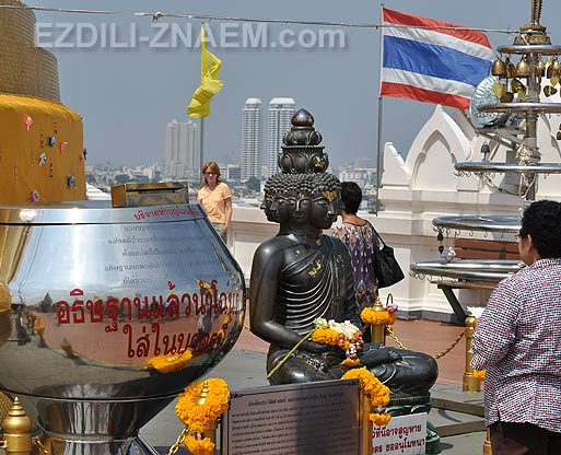 Храм Золотой горы в Бангкоке. Храм Ват Сакет (Wat Saket)