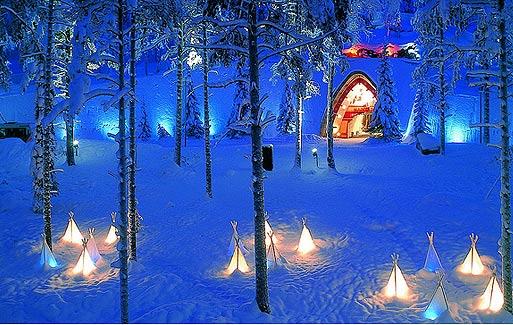 Встретить Новый Год в Финляндии