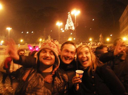 Новый год в Италии, Рим