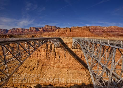 Самые необычные мосты мира: мост Навахо в Аризоне