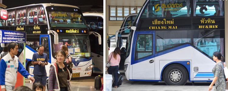 Транспорт в Тайланде: автобусом из Чиангмай в Хуа Хин