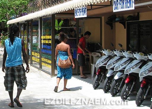 Особенности аренды мотобайков на островах Тайланда