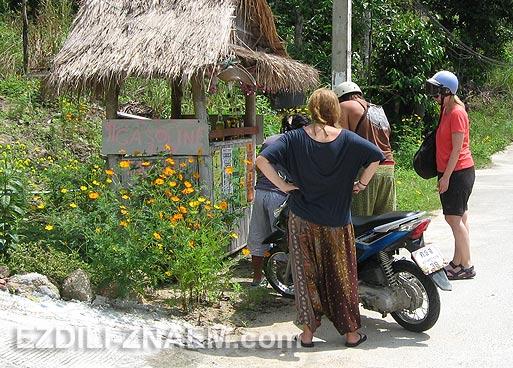 Особенности вождения мотобайка на островах Тайланда