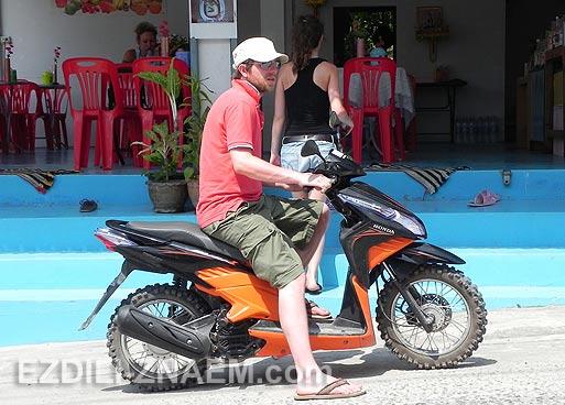 Аренда мотобайка на островах Тайланда
