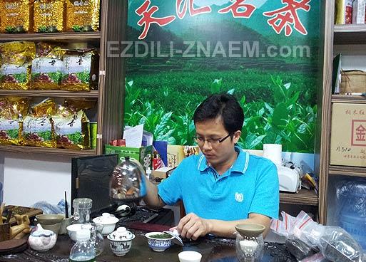 Китай: где купить китайский чай в Гуанчжоу
