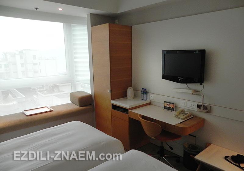 Номер в We Hotel, Гонконг