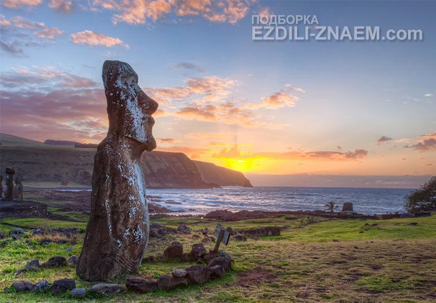 Мистические фигуры острова Пасхи