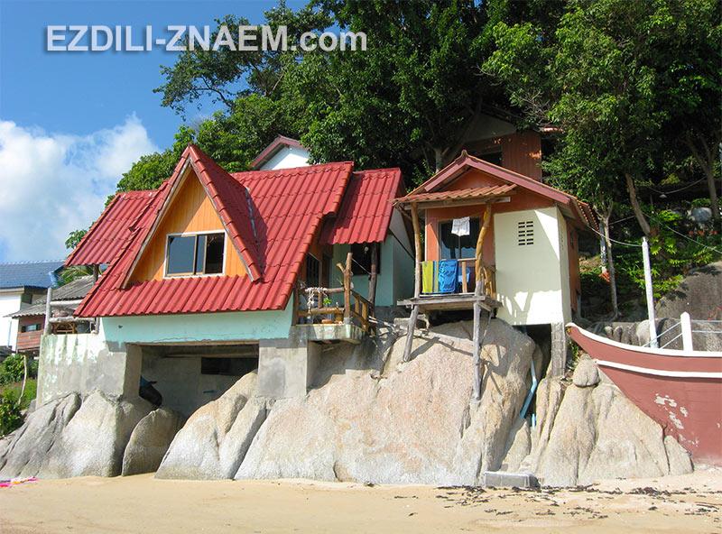 недорогие отели на Пангане - это в основном небольшие бунгало