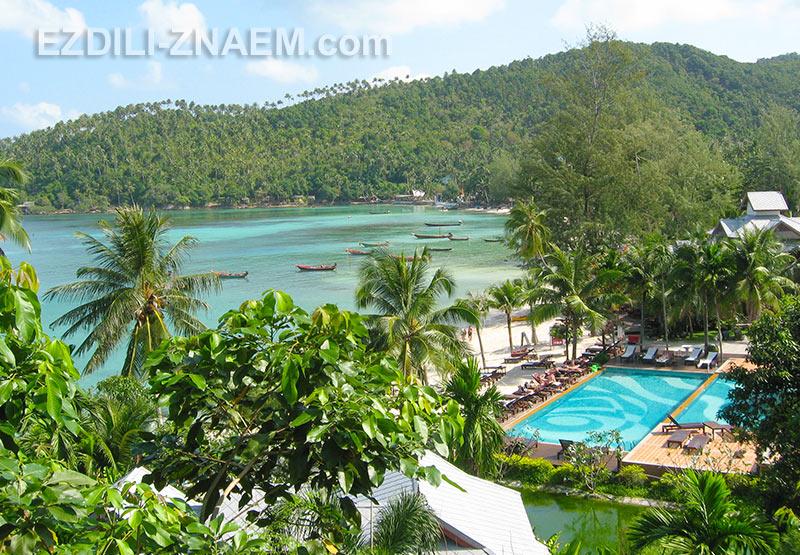 на острове Панган много комфортных отелей