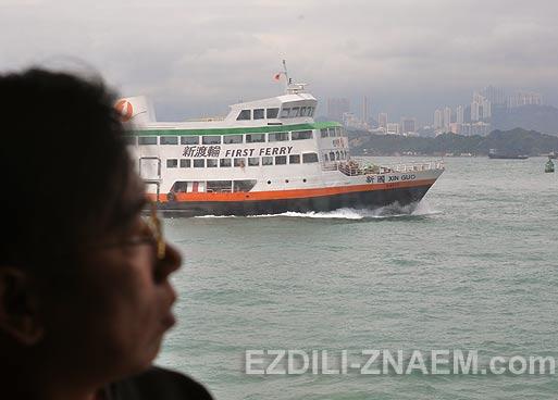 Паром TurboJet. Рейс из Макао в Гонконг