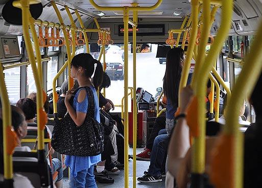 Транспорт в Макао. На автобусах по Макао