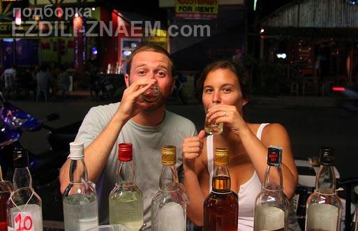 Алкоголь в Тайланде: тайский виски