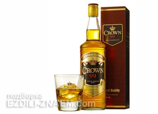 """Алкоголь в Тайланде: виски """"Crown99"""""""