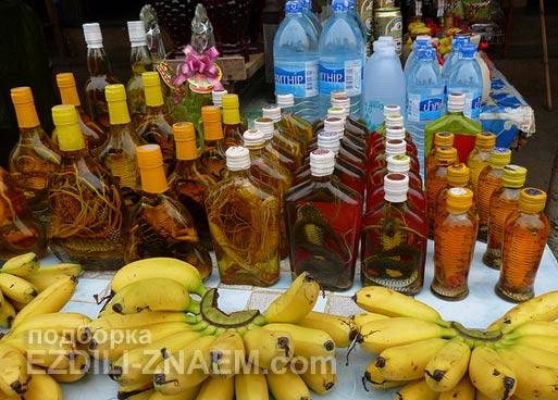 Алкоголь в Тайланде: тайский виски со змеями