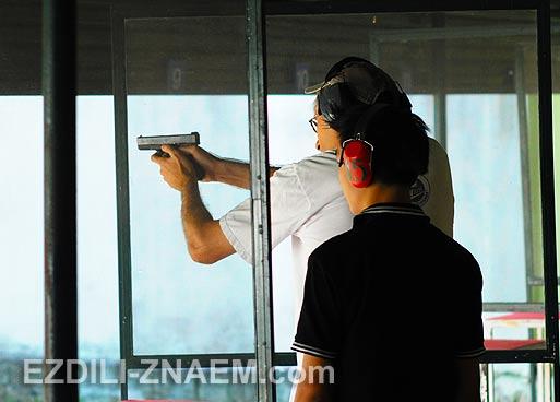 Где пострелять из пистолета в Чианг Мае. Тайланд