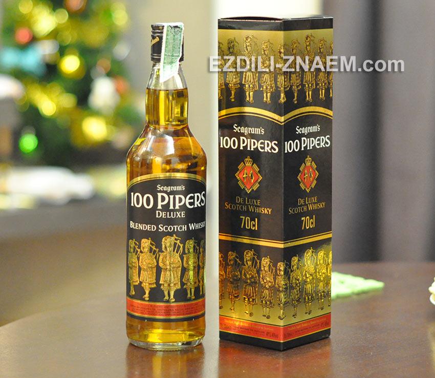 """тайцы с удовольствием попивают виски """"100 Pipers"""""""