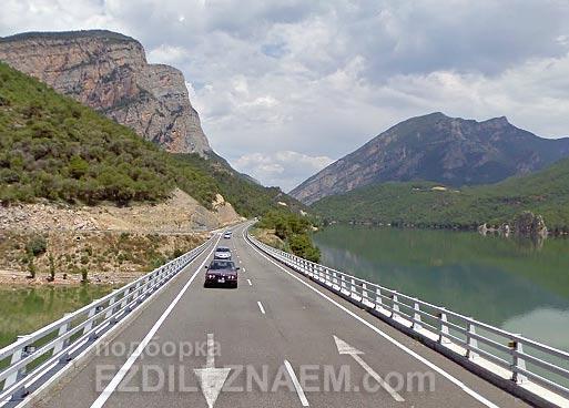 Дорога Барселона - Андорра. Поездка автобусом в Андорру