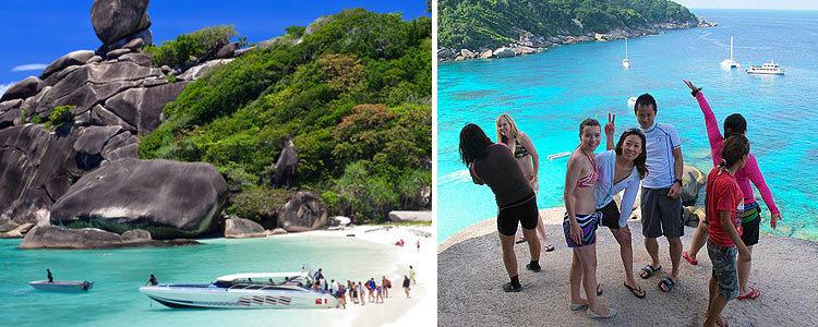 Лучшая экскурсия на Пхукете - поездка на Симиланские острова. Тайланд