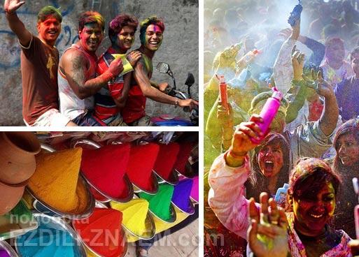 Куда поехать в марте? На фестиваль красок Холи в Индии