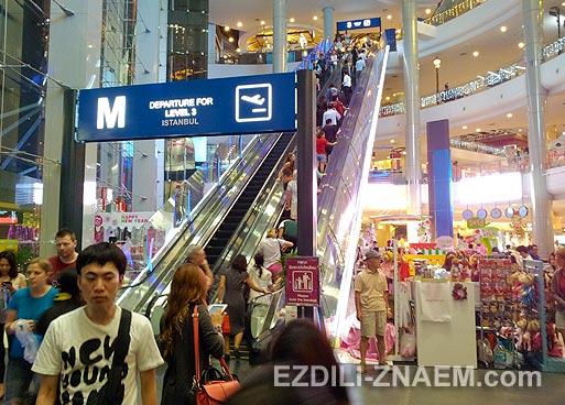 Новый шоппинг-центр Бангкока: