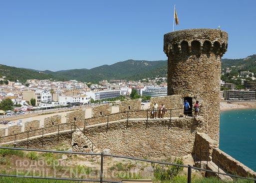 Отдых в испанском Тосса де Мар