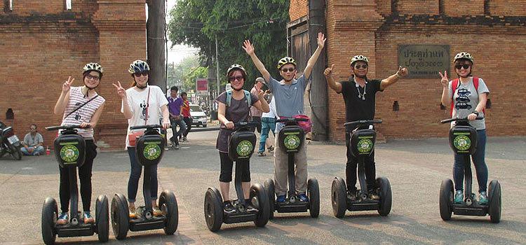 Экскурсия на сегвее в Чиангмае