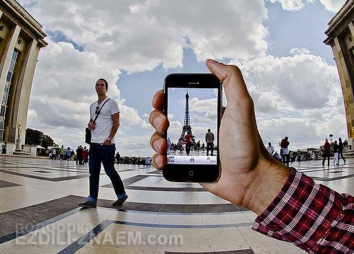 Фотографирование смартфоном в путешествиях