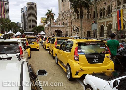 Автошоу в Куала Лумпур