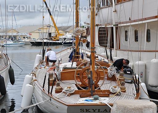 Яхты в Сан Тропе. Франция