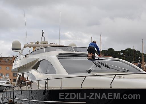 Фото яхт в Сан Тропе