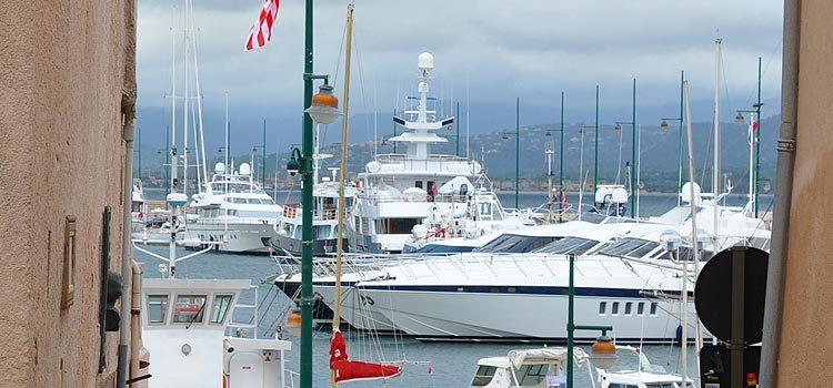 Яхты в Сан-Тропе
