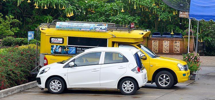 Аренда авто в Чиангмае, Таиланд