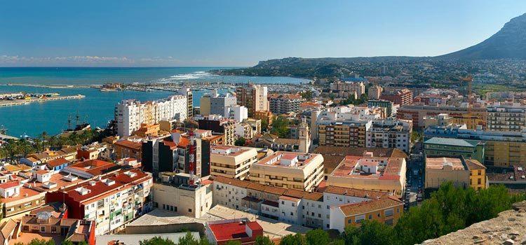 Дения в Испании