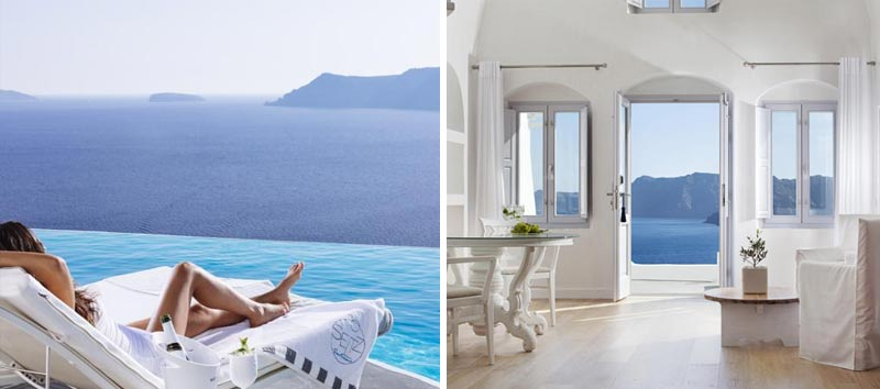 Необычный отель в Греции