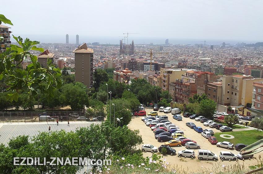 улицы в районе Guinardo ведут все выше на гору. Барселона