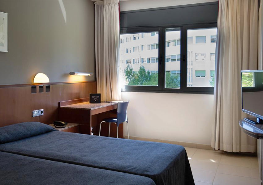номер в отеле Amrey Sant Pau в Барселоне