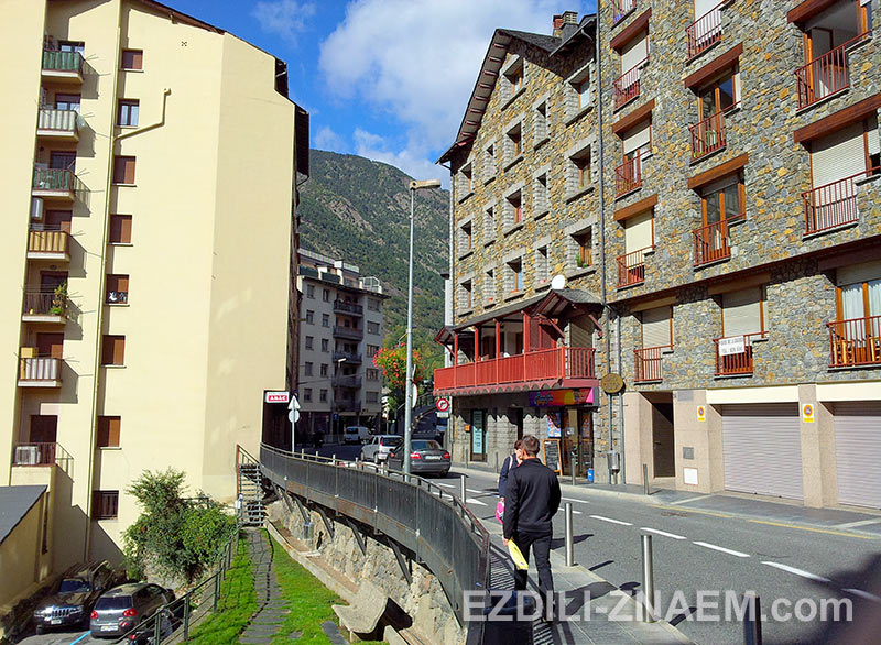 улицы Андорры Ла Велла