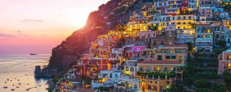 Красивые городки на краю обрыва