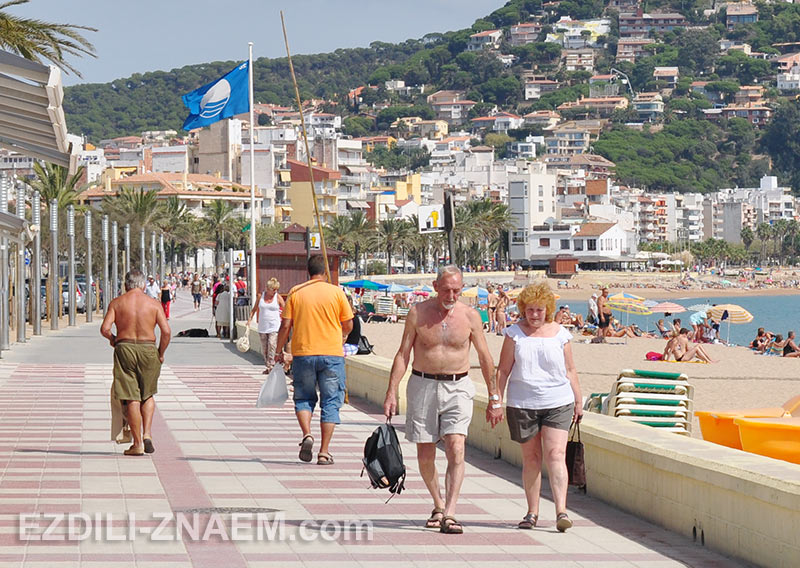 в Испании можно больше гулять