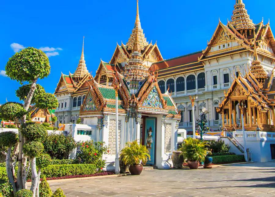 Королевский Дворец - главная достопримечательность Бангкока